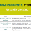 Programme d'animations 2016