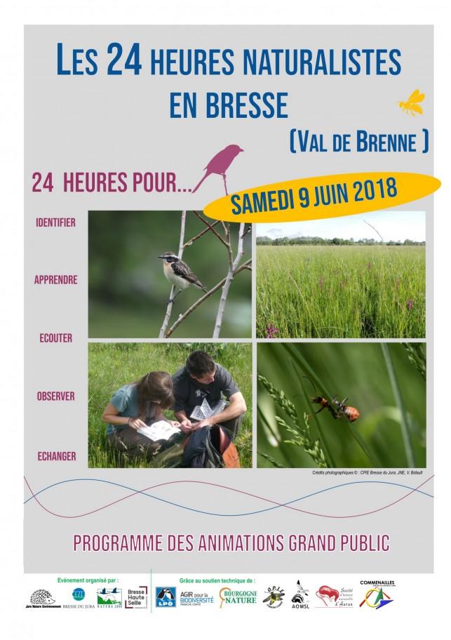 Les 24H naturalistes se passent en Bresse !